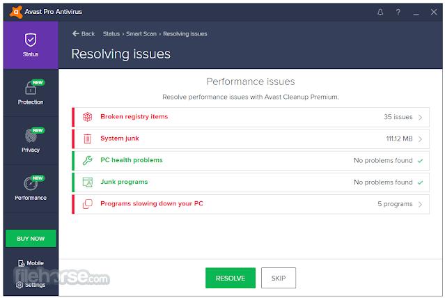 تحميل Avast Antivirus Pro 21.1.2449