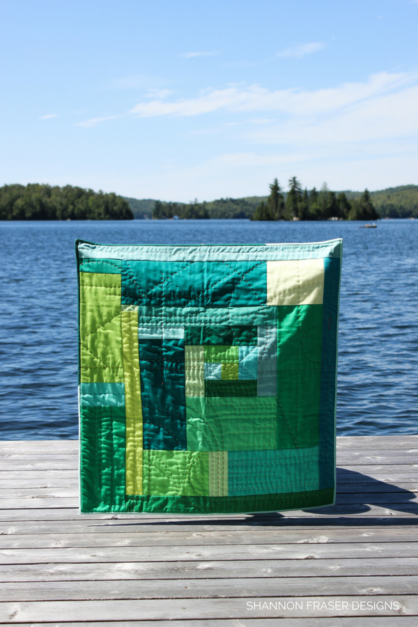 "Quilts in the wild | The ""F"" Quilt - an exploration of feelings through improv quilting 