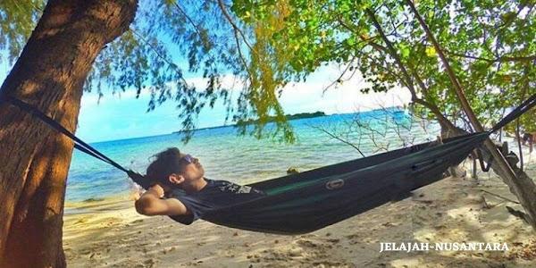 paket camping pulau dholpin sepa dan perak kepulauan seribu