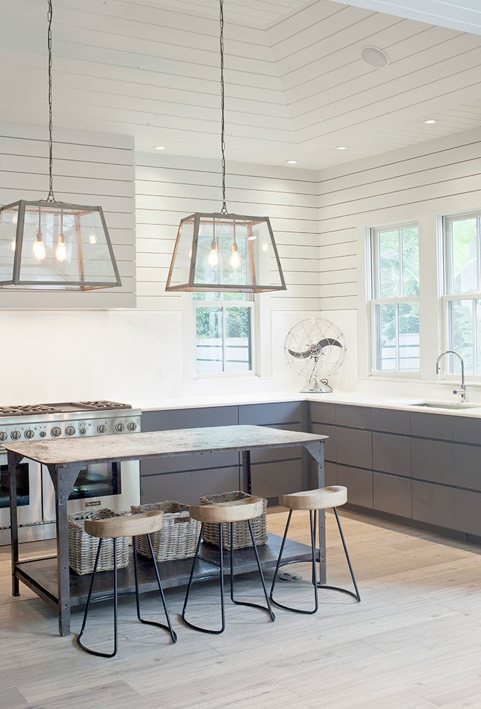 Great Ways For Lighting A Kitchen: La Dolce Vita: Farmhouse Style, Two Ways