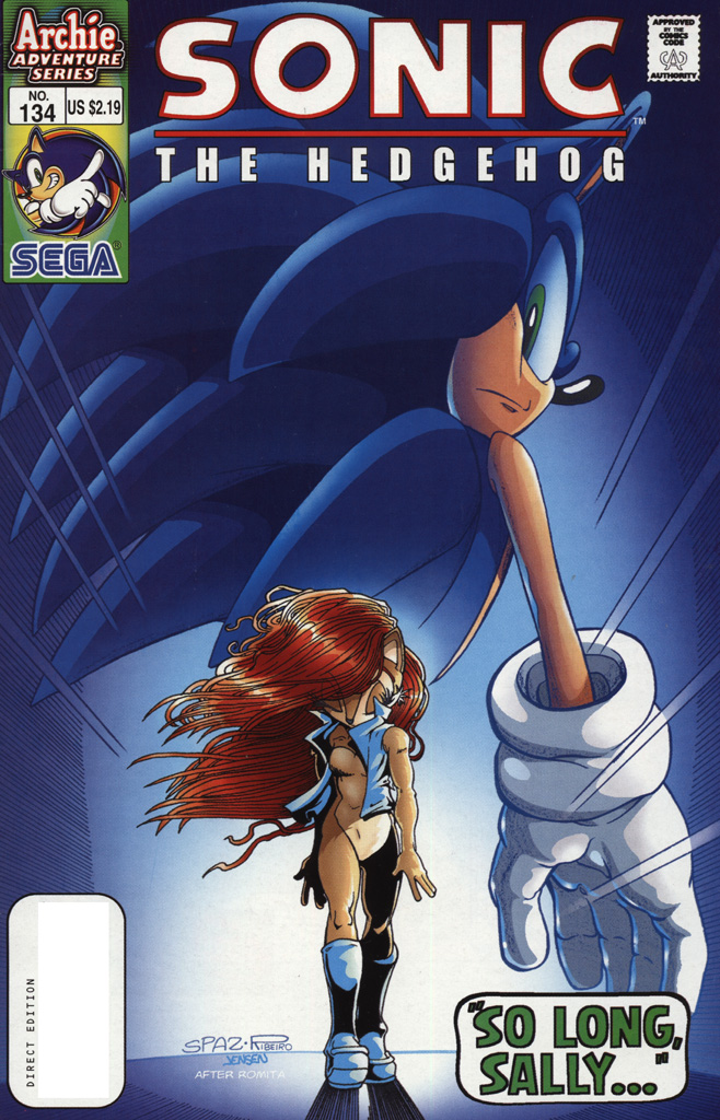 Hedgehogs cant swim sonic the hedgehog issue 134 sonic thecheapjerseys Gallery
