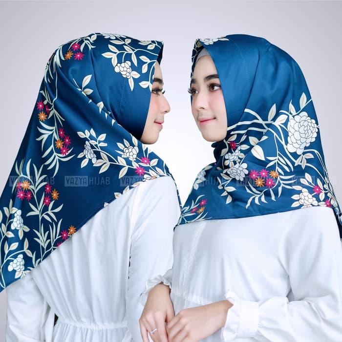 Jilbab INSTAN SEGITIGA Sheila warna NAVY