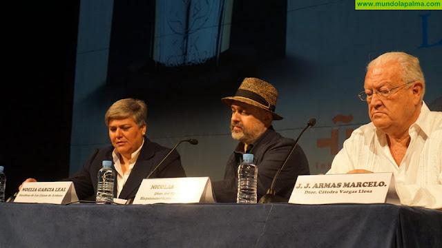 Mario Vargas Llosa y Jean-Marie Gustave Le Clézio participarán en septiembre en Los Llanos de Aridane en el II Festival Hispanomericano de Escritores