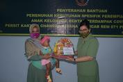 Peduli Perempuan dan Anak, Persit KCK Koorcab Rem 071 PD IV/Diponegoro Berikan Bantuan Spesifik Perempuan dan Anak Kelompok Rentan Covid-19