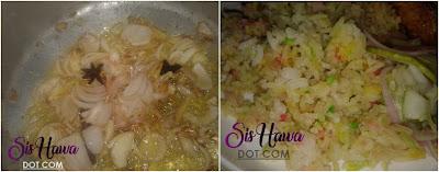 Resepi Nasi Minyak (Guna Beras Biasa)