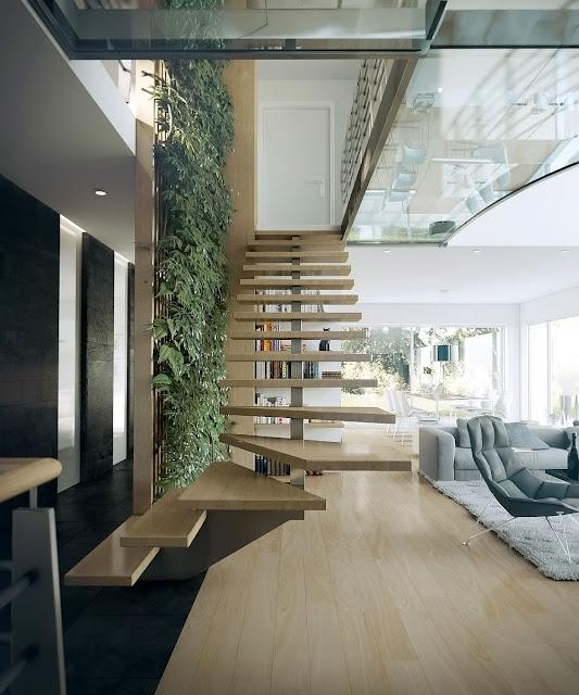 staircase below design