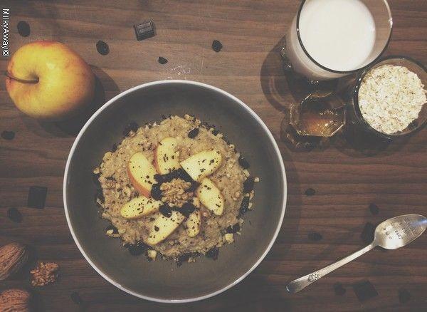 Recette Porridge vitaminé et complet Markal