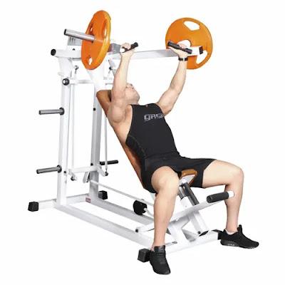 Machine Incline Press / Upper Chest Workout