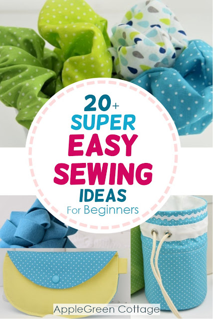 20 Super Easy Sewing Projects Applegreen Cottage