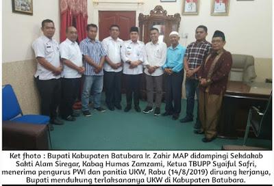 Bupati Dukung UKW di Batubara
