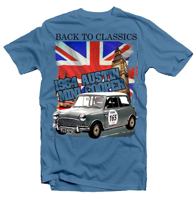 mini cooper tshirt design