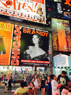Chicago Musical Billboard Brandy Times Square