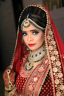 Indian Bride makeup images
