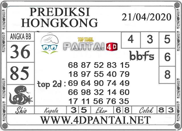 PREDIKSI TOGEL HONGKONG PANTAI4D 21 APRIL 2020