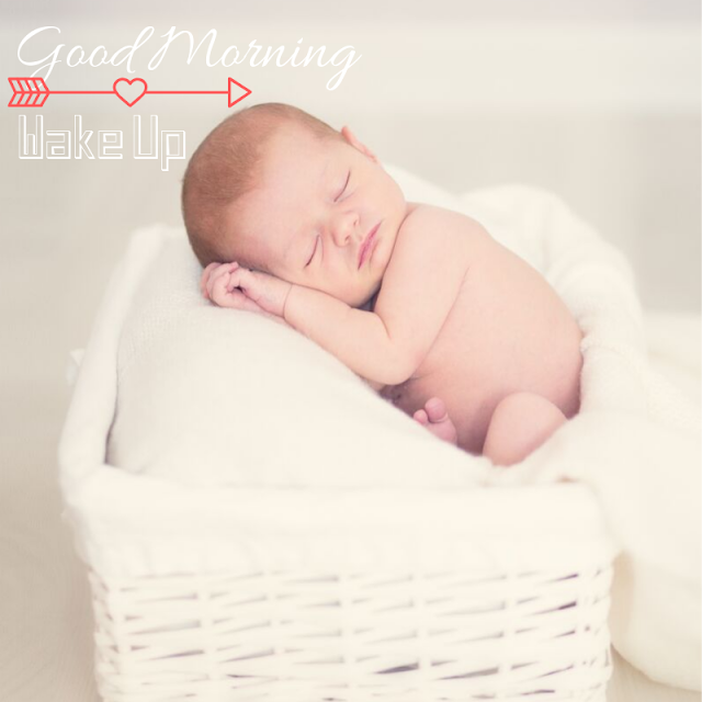 Little Cute Baby Good Morning Images