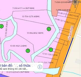 Bán : 5,7 sào đất mặt tiền tỉnh lộ 765 Xuân Tây cẩm Mỹ