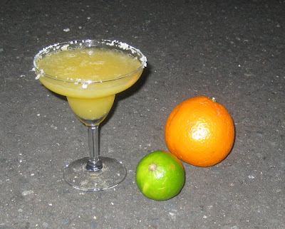 Frozen Orange Margarita