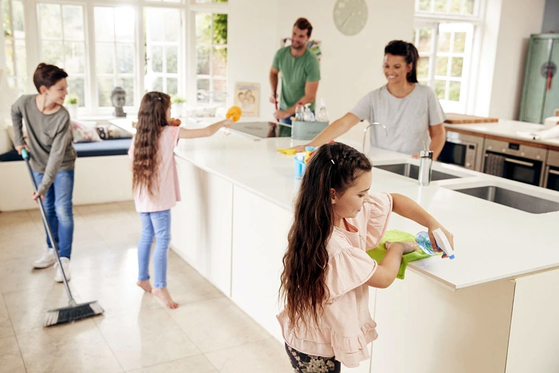 5 Habits for a More Sanitary Home