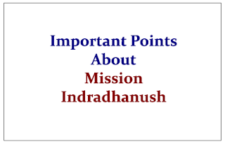 Important Points to Know about Mission Indradhanush