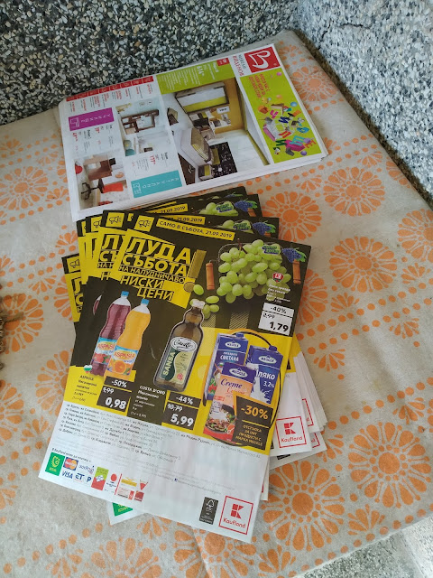 Flyers, Catalogues, Delivered, Yambol,