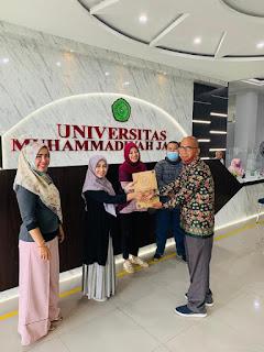 Diskusi Advokasi Layanan Pendidikan Inklusif dengan Universitas Muhammadyah Jambi