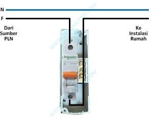 Cara memasang kabel mcb, bagian, fungsi