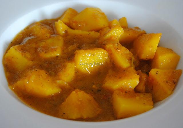 Patatas Guisadas con Verduras