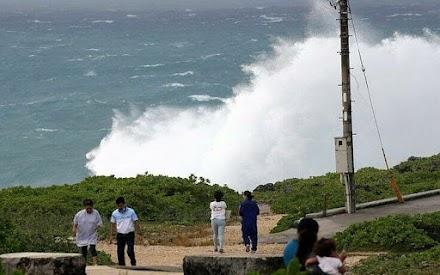 Ο ισχυρός τυφώνας Χάϊσεν απειλεί την Ιαπωνία