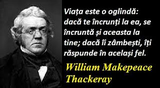 Citatul zilei: 18 iulie - William Makepeace Thackeray