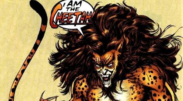 apa saja kekuatan cheetah musuh wonder woman