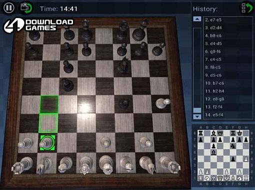 لعبة شطرنج ثلاثية الابعاد Chess Pro 3D للكمبيوتر