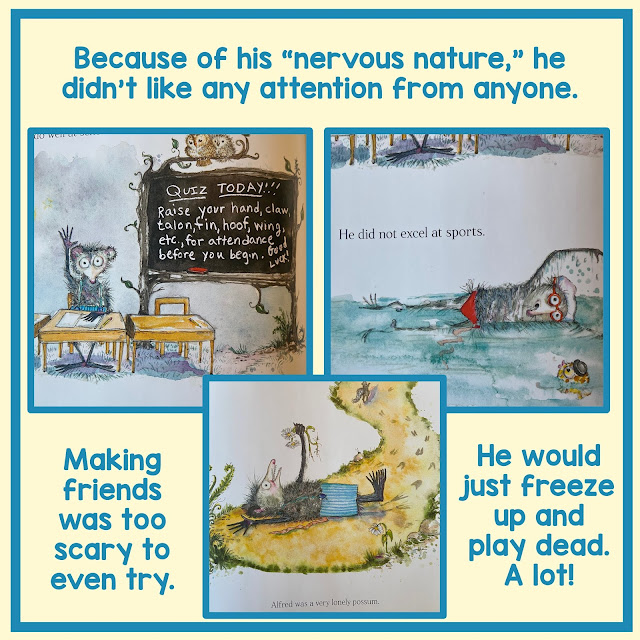 Playing Possum Picture Book