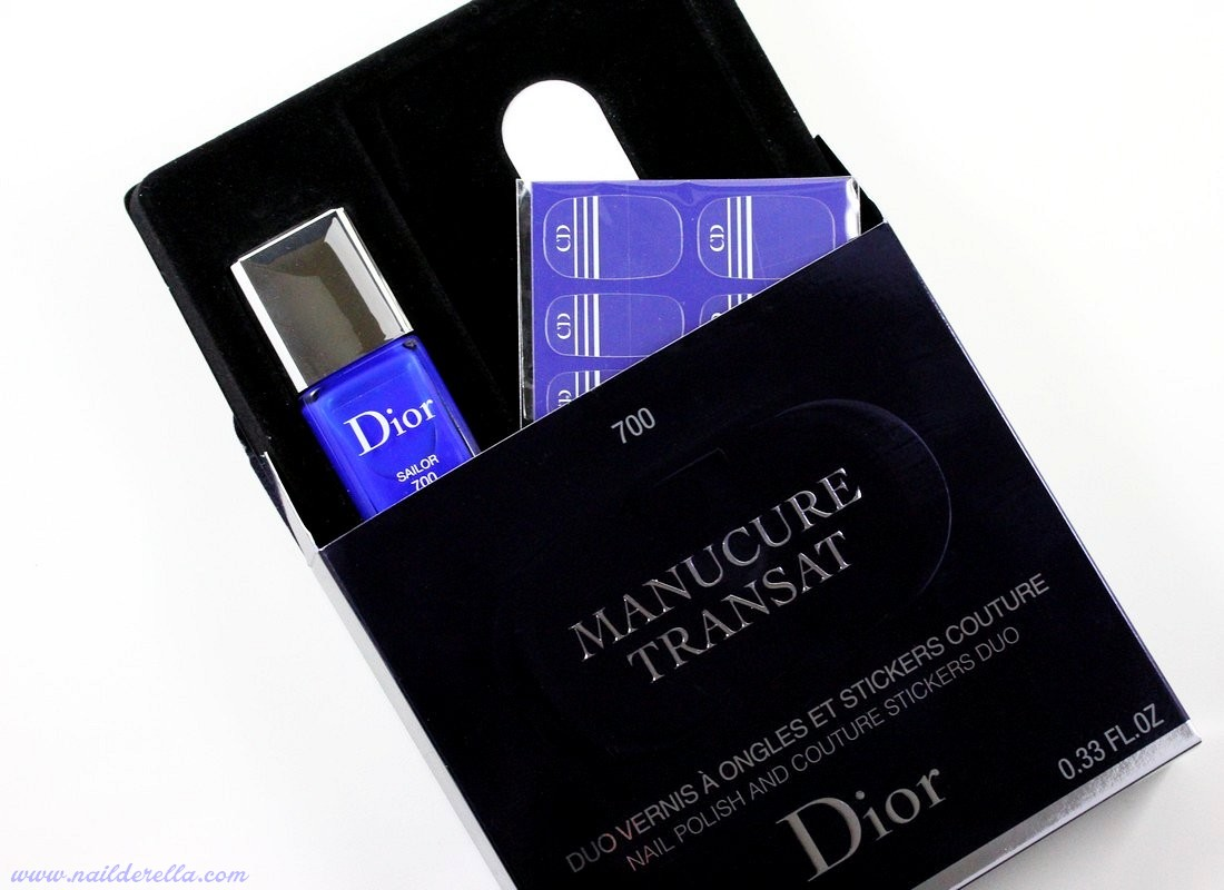 Super Dior Transat (Summer 2014) - swatches - Nailderella DH05