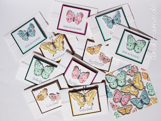 Stampin Up Butterfly Brilliance Fabelhafte Falter