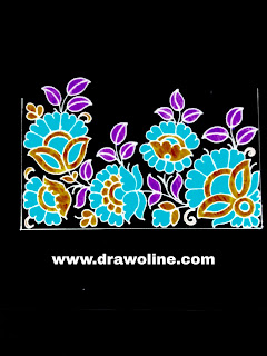 Free hand embroidery border design images/ simple saree pics free download for hand embroidery and mac