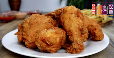دجاج كنتاكي منزلي رائع