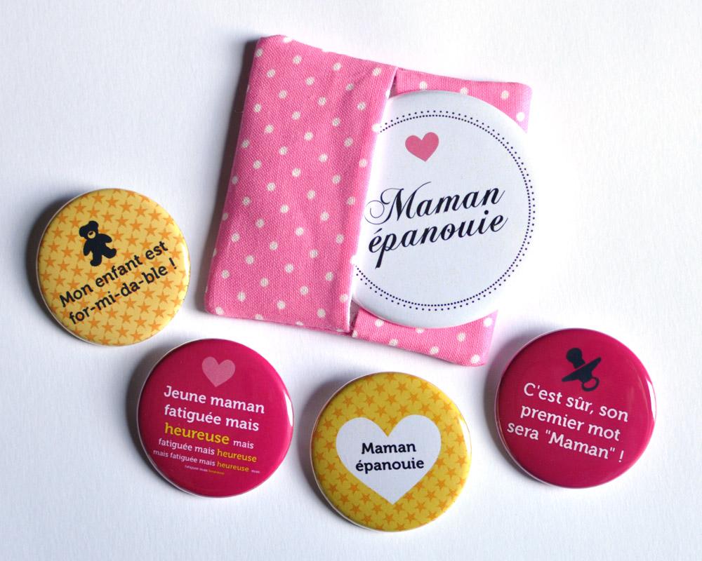 bulles de neige badges personnalis s evjf mariage anniversaire des kits cadeaux pour les. Black Bedroom Furniture Sets. Home Design Ideas