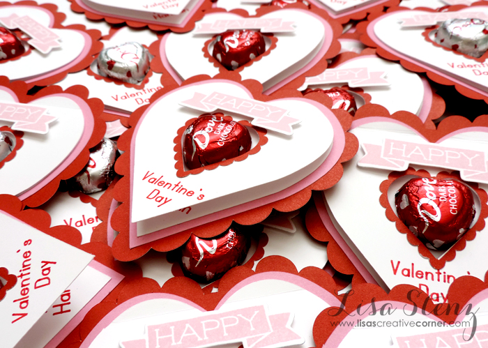 Lisas Creative Corner Valentine Cards with Link to DS file – Cricut Valentines Cards