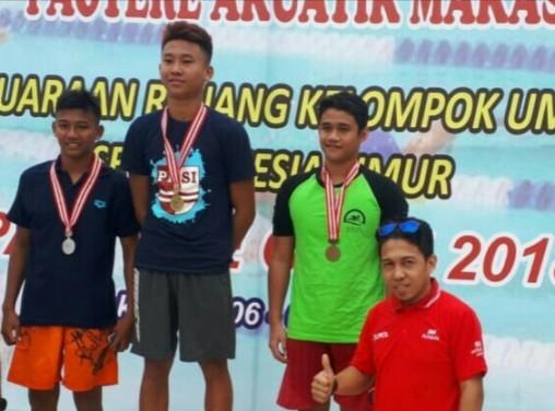 "Atlit Selayar Dominasi Perolehan Medali, Kejuaraan Renang ""Paotere Open 2018"""