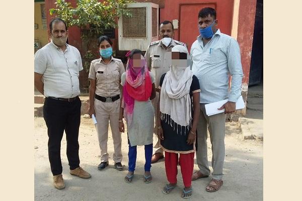 faridabad-sanik-colony-police-chowki-news-missing-girl-recovered