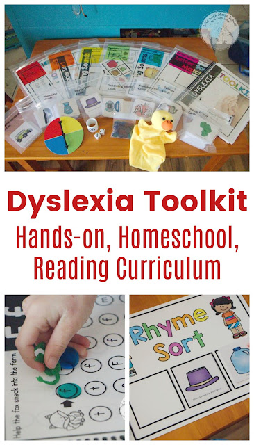 Dyslexia Reading Curriculum for Homeschool