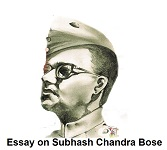 Essay on Subhash Chandra Bose in 400 words