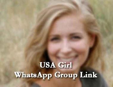 USA Girl WhatsApp Group Link 2020 (Beautiful, Hot, Sexy American Girls)