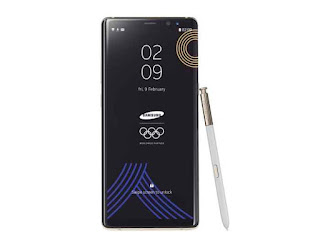 Olympic version of Galaxy Note 8 announced