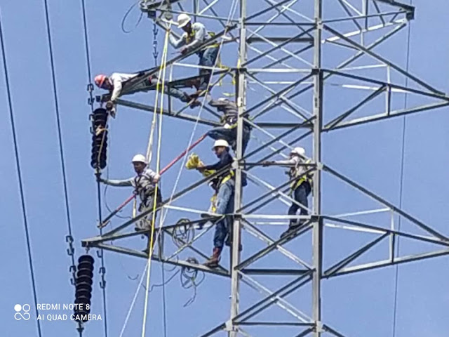 APURE: Avanzan trabajos en líneas de Transmisión y Distribución en la entidad llanera.