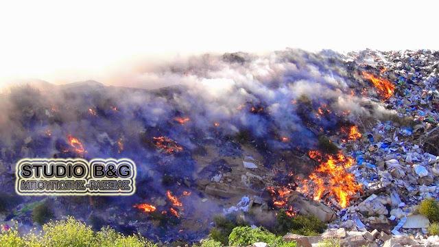 Ερωτήματα της ΠΟΕ-ΟΤΑ για τις πυρκαγιές σε χώρους απορριμμάτων (λίστα 5ετίας)