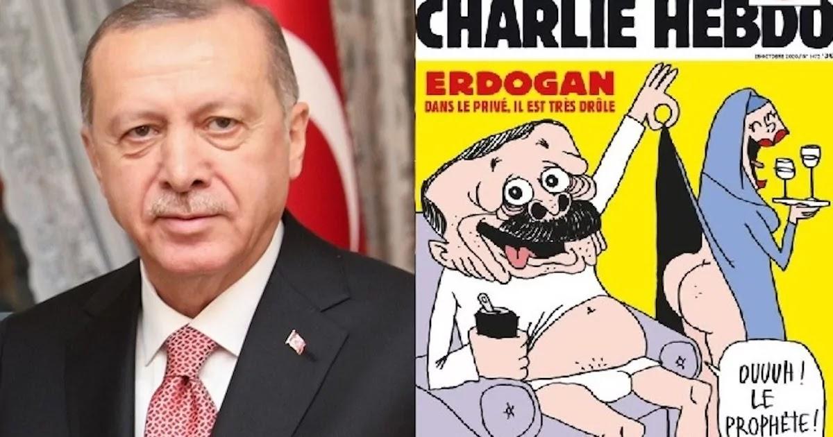 Turkey Rages After French Magazine Charlie Hebdo Publishes Offensive Cartoon Of Recep Erdogan