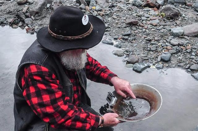 Gold brought  in Juneau, Alaska