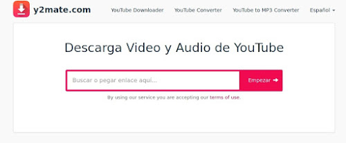 descargar video de youtube usando y2mate