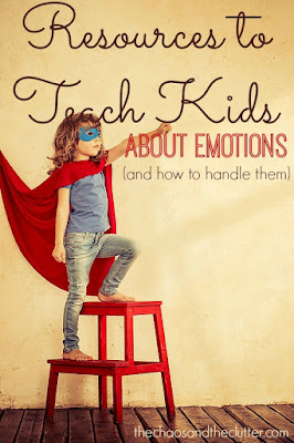 Resources to teach kids about emotions.